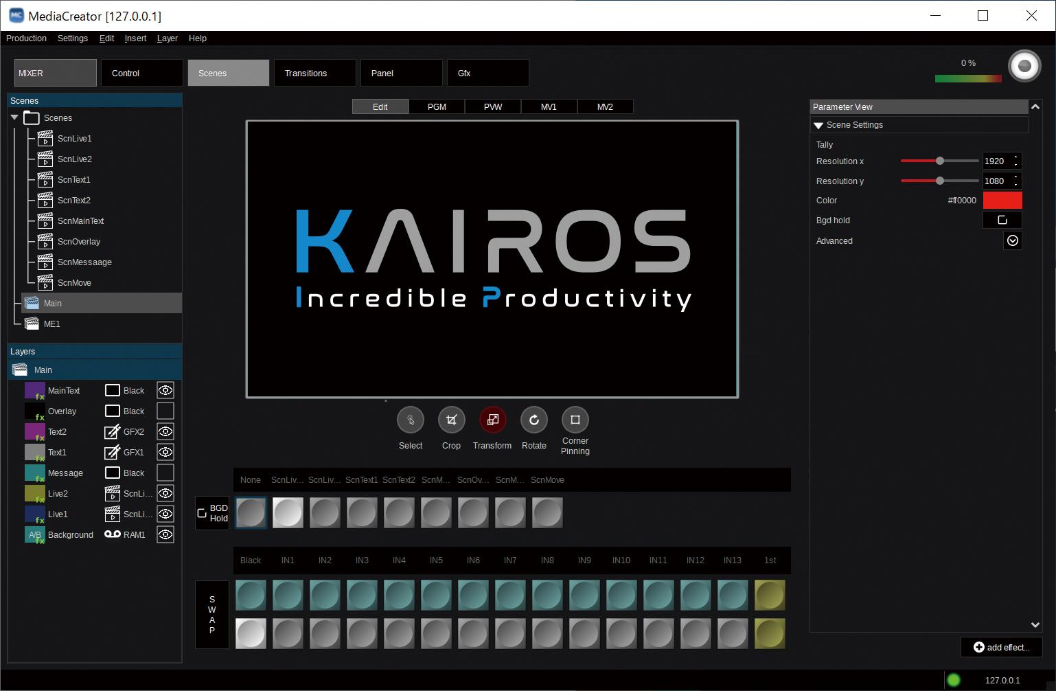 Plataforma de procesamiento de vídeo TIIP KAIROS