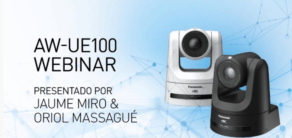 Webinar sobre las Cámaras PTZ AW-UE100 de Panasonic