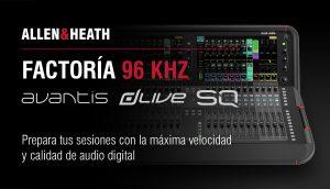 Factoría 96 kHz