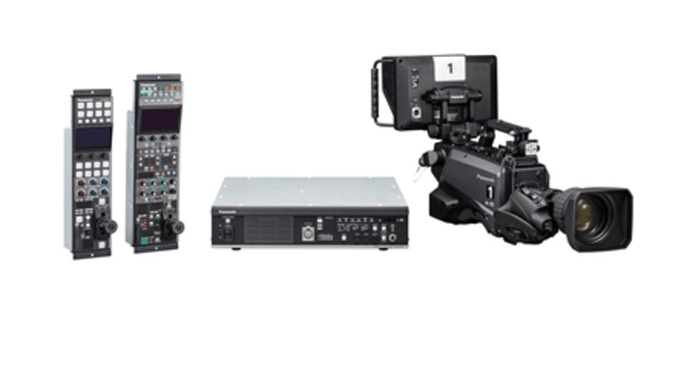 sistema de cámara de estudio 4K UHD AK-UC3300