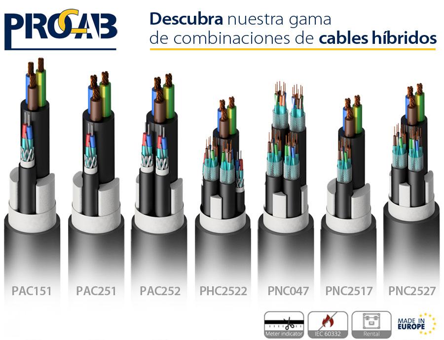 Cables híbridos de PROCAB