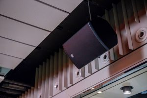 Instalación de equipos de sonido profesional LD Systems