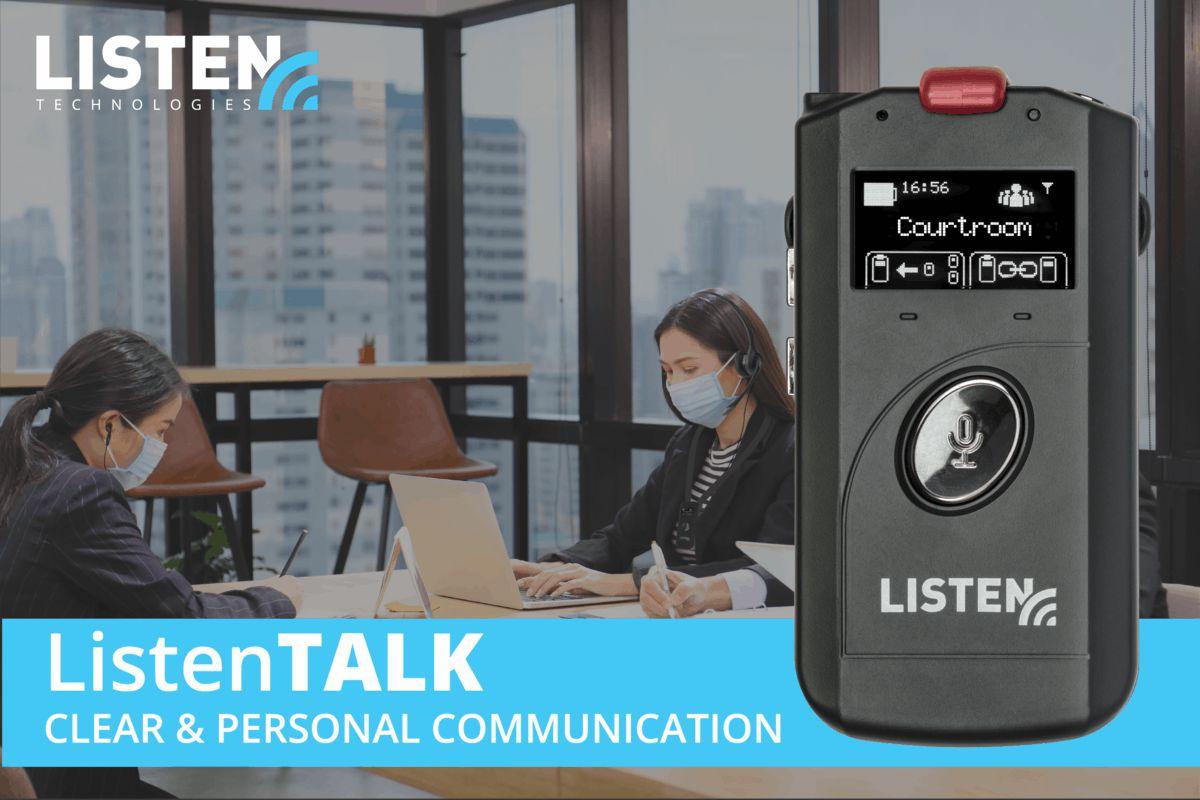 ListenTALK herramienta de comunicación inalámbrica para grupos