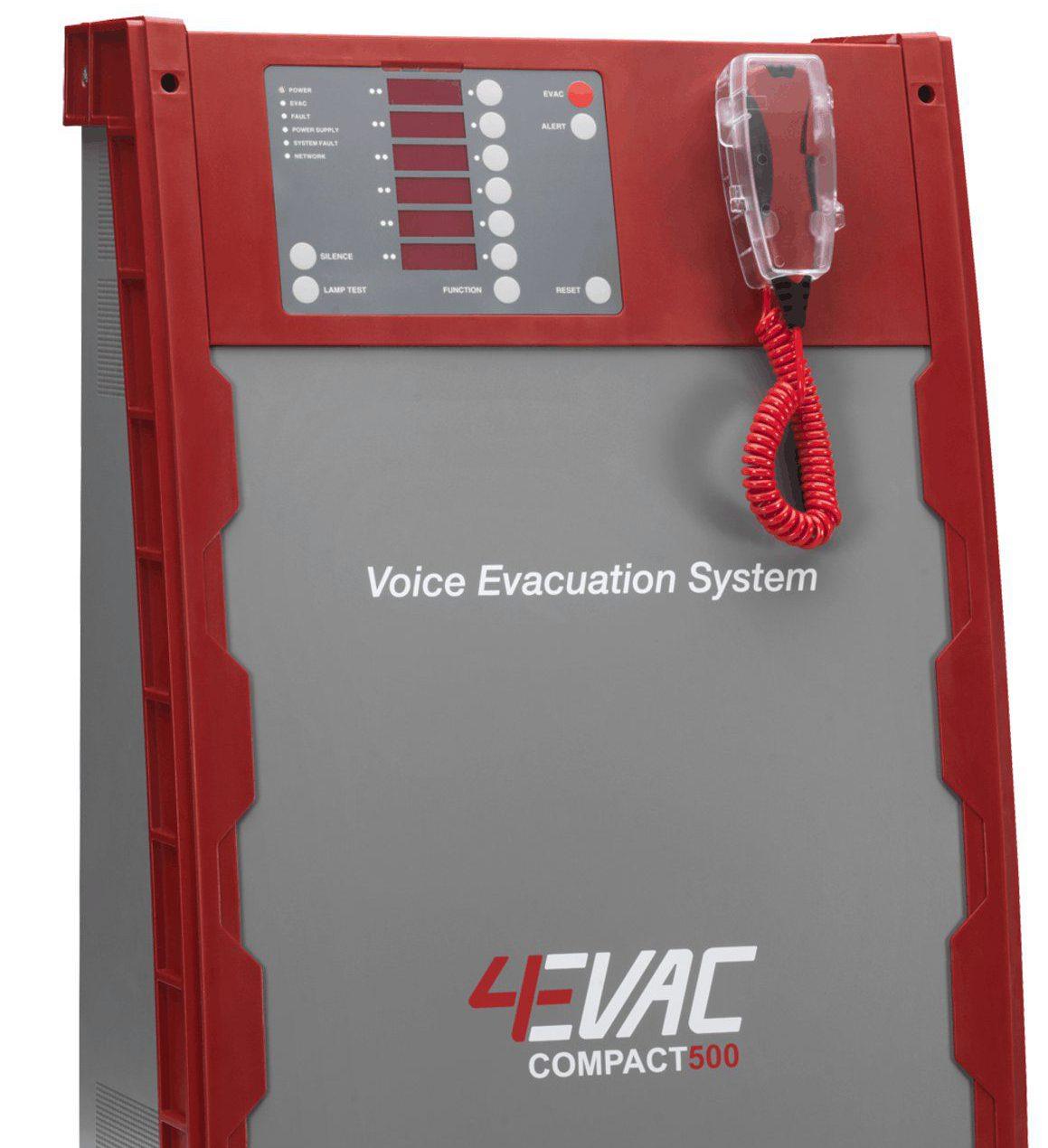 equipos de megafonía y alarma por voz de la serie 4EVAC 3