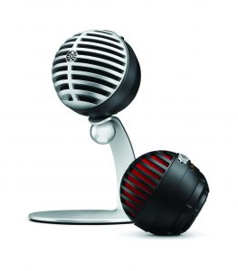 Micrófono digital de condensador MV5C de Shure