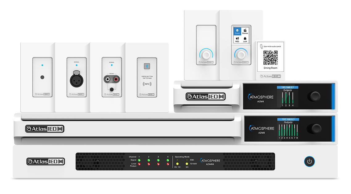 plataforma de audio digital Atmosphere™, de AtlasIED
