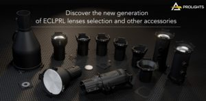 recorte LED elipsoidal EclProfile CT + de PROLIGHTS