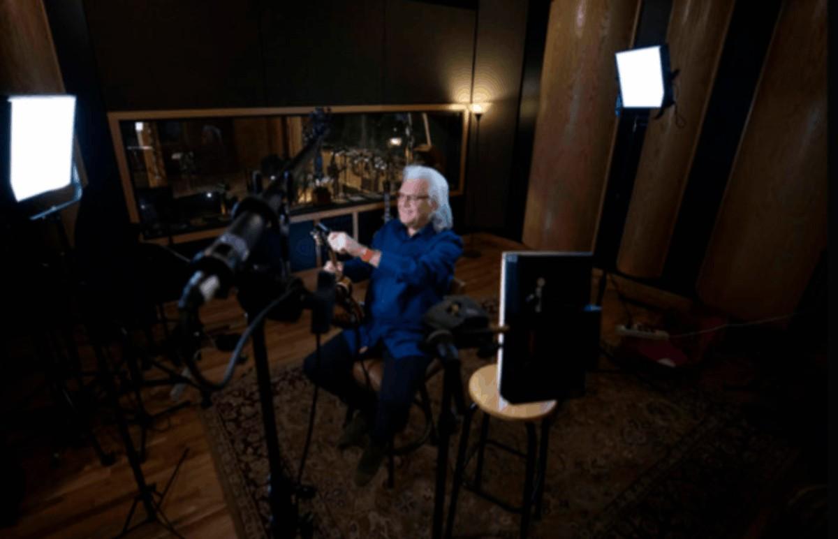 serie Pro Talk de Sennheiser con la entrevista a Ricky Skaggs