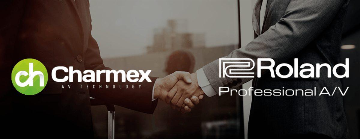 Charmex distribuidor de las soluciones de video y audio profesionales de Roland ProAV