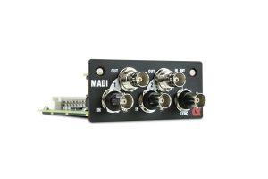 Nueva tarjeta MADI para mezcladores de la Serie SQ