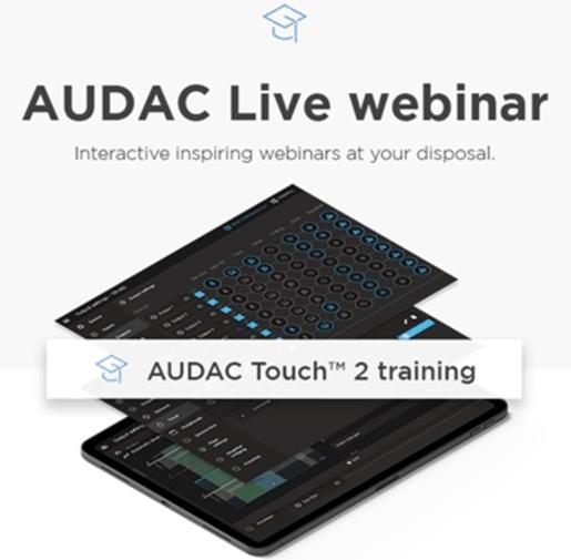 nuevo AUDAC Touch 2.4