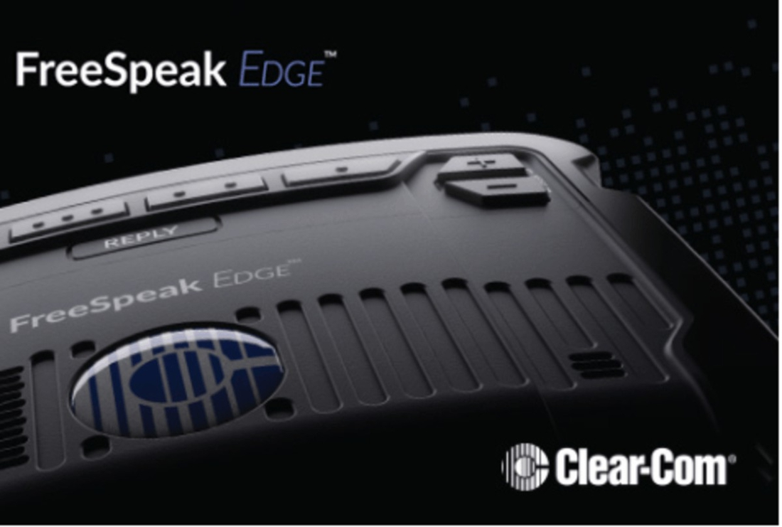 Sistema de intercom inalámbrico en la banda 5GHz de Clearcom FreeSpeak EDGE