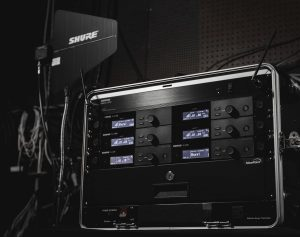 sistema inalámbrico SLX-D de Shure