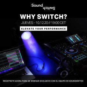 del software de control de iluminación SOUNDSWITCH