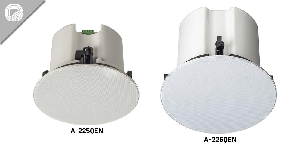 Cajas acústicas para techo de dos vías con certificación EN 54