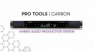 Carbon Interface de audio Pro Tools de AVID con DSP