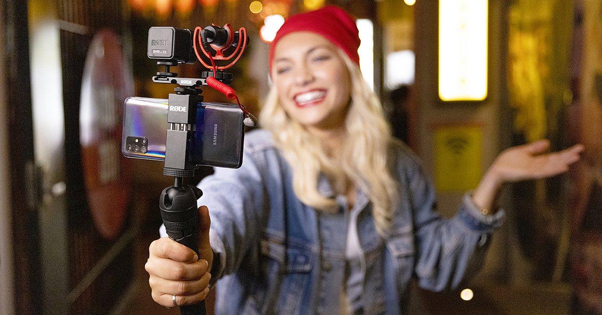 Nuevos kits de vlogging de Rode para smartphone