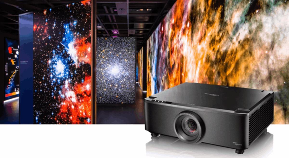 Proyector láser de tiro corto y lente fija de 7.000
