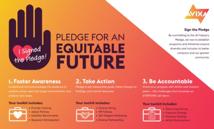 AVIXA Compromiso de la Industria Audiovisual por un Futuro Equitativo
