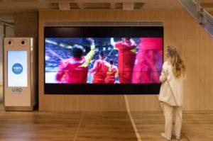 Instalación de equipos audiovisuales de TMM Group