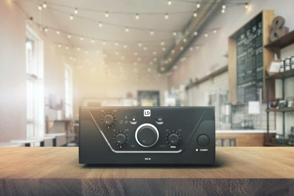 Amplificadores mezcladores para instalaciones fijas serie IMA de LD Systems