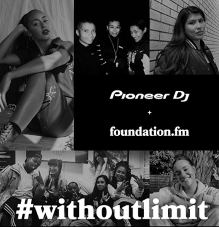 Pioneer DJ y foundation.fm WithoutLimit
