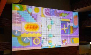 Proyector de láser puro Christie D4K40-RGB para un videomapping 3D