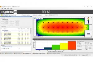 archivos EASE para los altavoces de instalación de sonido de LD Systems