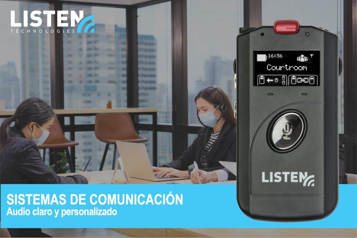 sistemas de comunicación inalámbrica de LISTEN technologies