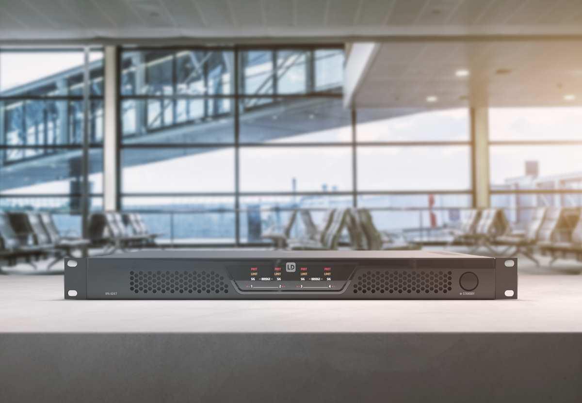 Amplificadores IPA DSP para instalación de sonido de cuatro canales