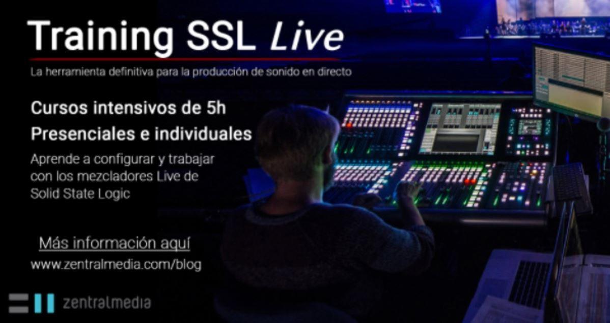cursos gratuitos de los mezcladores de SSL Live