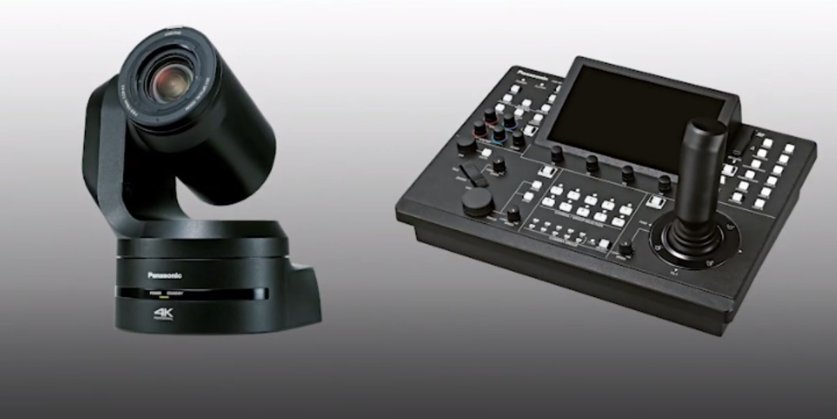 cámara PTZ4K/UHD 50p HDR Panasonic AW-UE150
