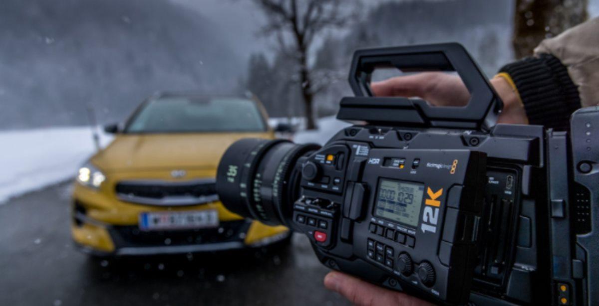 cámaras URSA Mini Pro 12K de Blackmagic