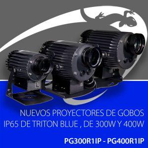 proyectores de gobos LED IP65 de Triton Blue