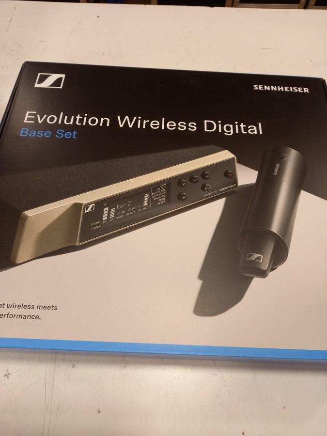 sistema de microfonía inalámbrica evolution Wireless DIGITAL de Sennheiser