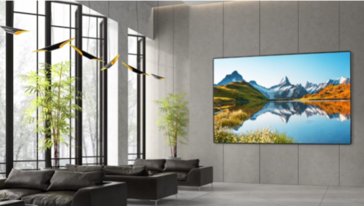 nueva pantalla LED plug-and-play FHDS130 SOLO de 130