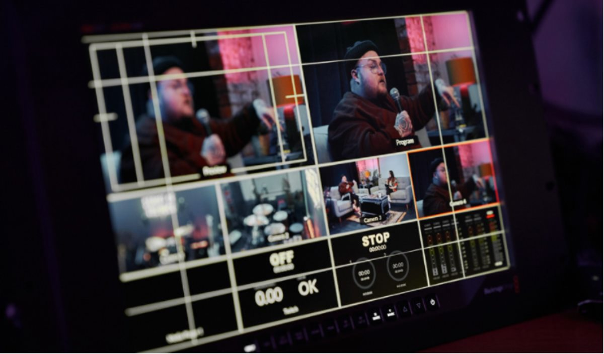 mezclador ATEM Mini Extreme y varias unidades Blackmagic Pocket Cinema Camera 6K