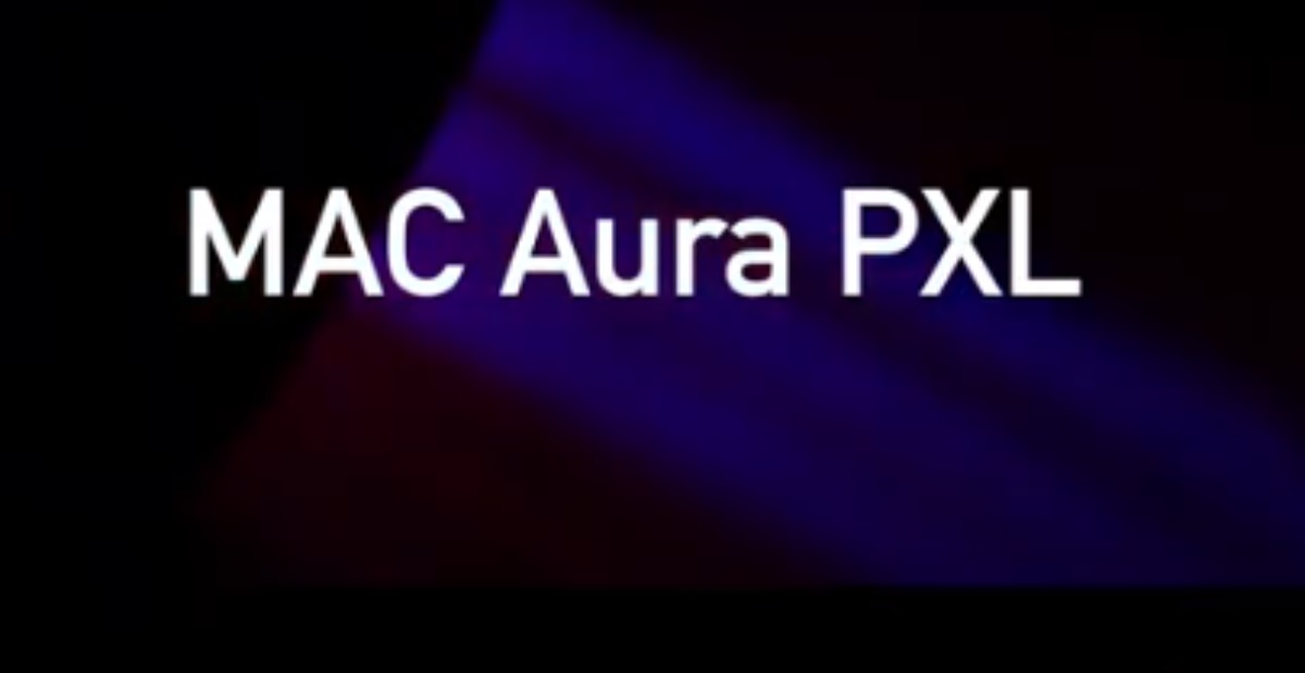 proyectores wash nueva cabeza móvil Mac Aura PXL de Martin