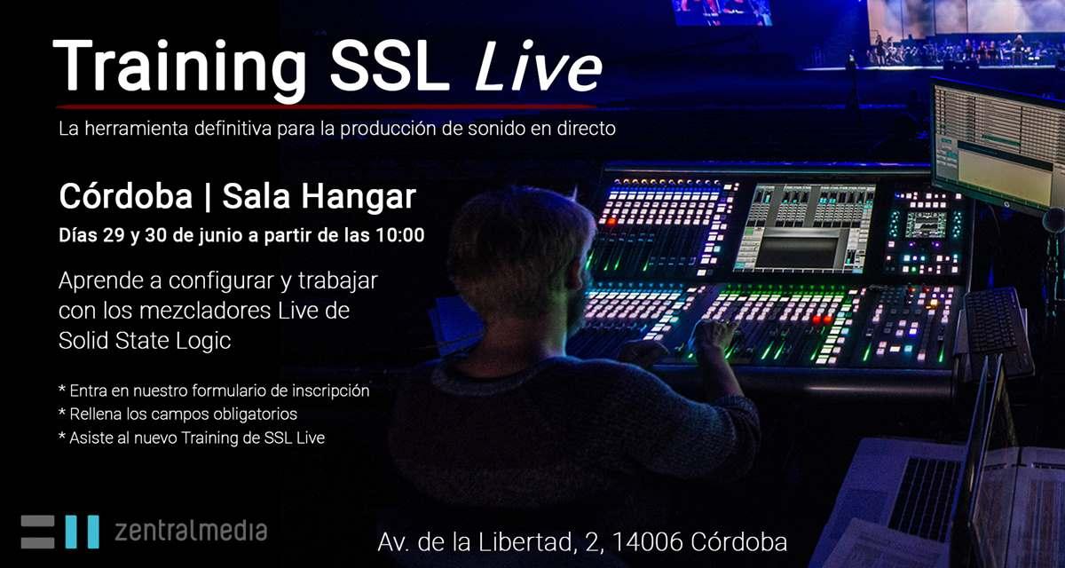 consola SSL Live para directo