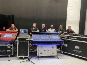 cursos de las consolas Quantum de DiGiCo y el sistema de monitoraje KLANG