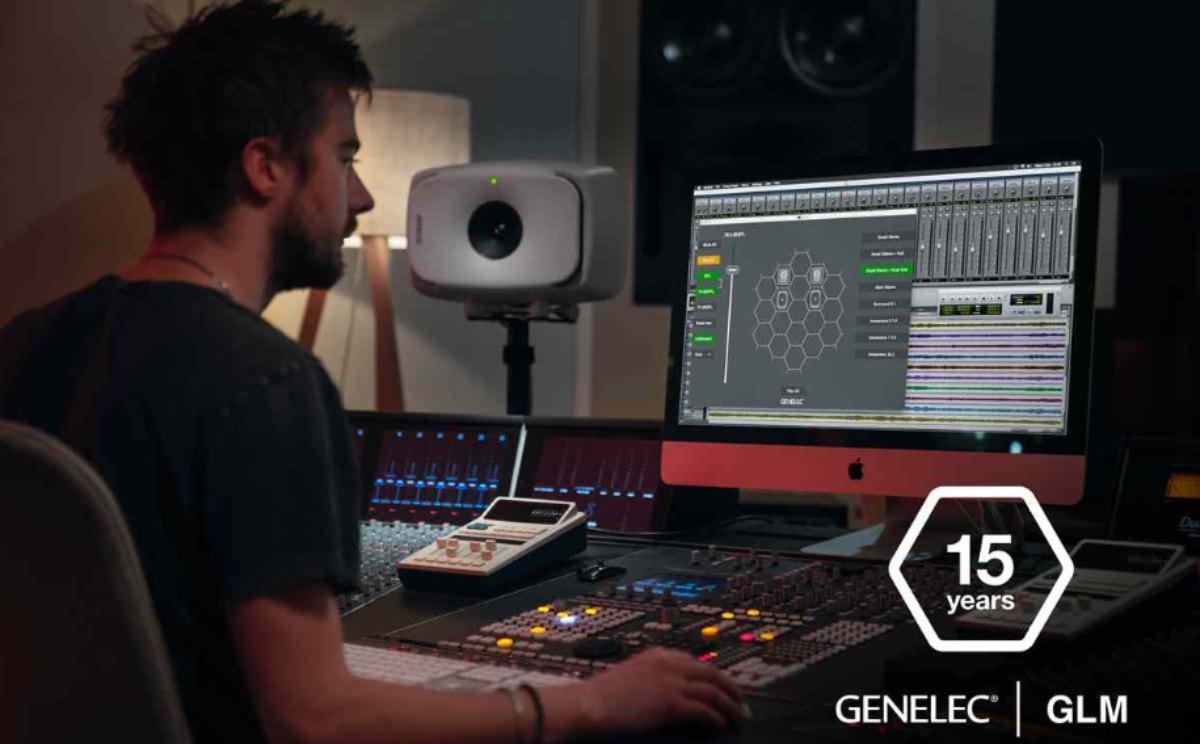 Nuevo software de gestión de monitores GLM versión 4.1 Genelec,