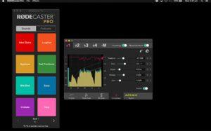 versión 2.1.2 de RØDEactualización de firmware para el RØDECaster Pro