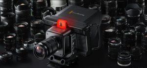 Studio Camera de Blackmagic Design cámara de estudio portátiles 4k plus pro