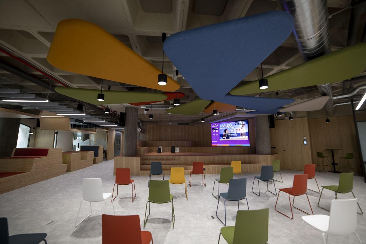 instalación de audio visualmedia y video