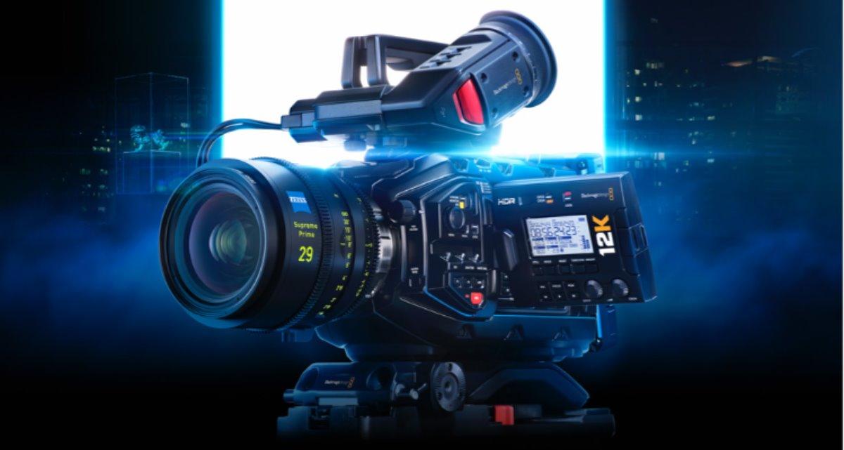 nuevo precio de la cámara de cine digital Blackmagic URSA Mini Pro 12K