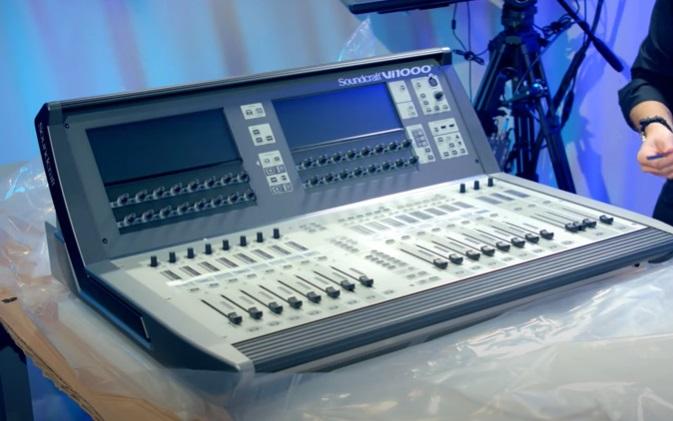 mezclador digital para directos