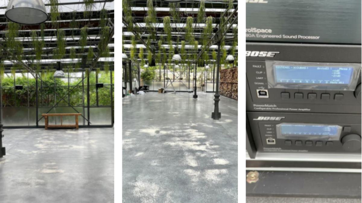 instalación de equipos de sonido profesional Bose profesional