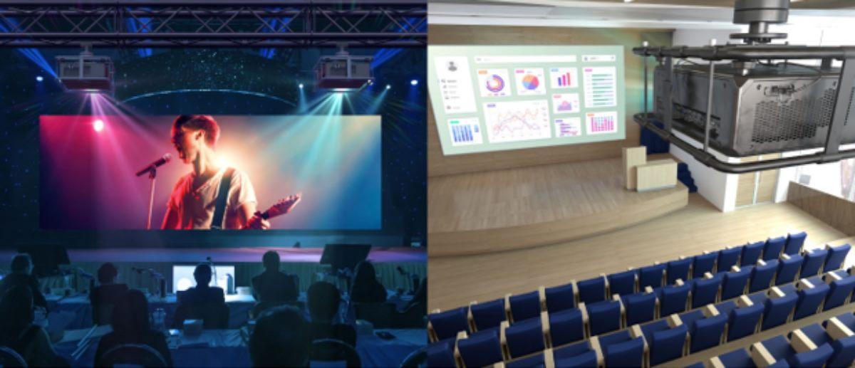proyectores profesionales WUXGA Ultra bright de alto rendimiento de Optoma