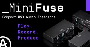 interfaces de audio y MIDI ultracompactas MiniFuse de Arturia