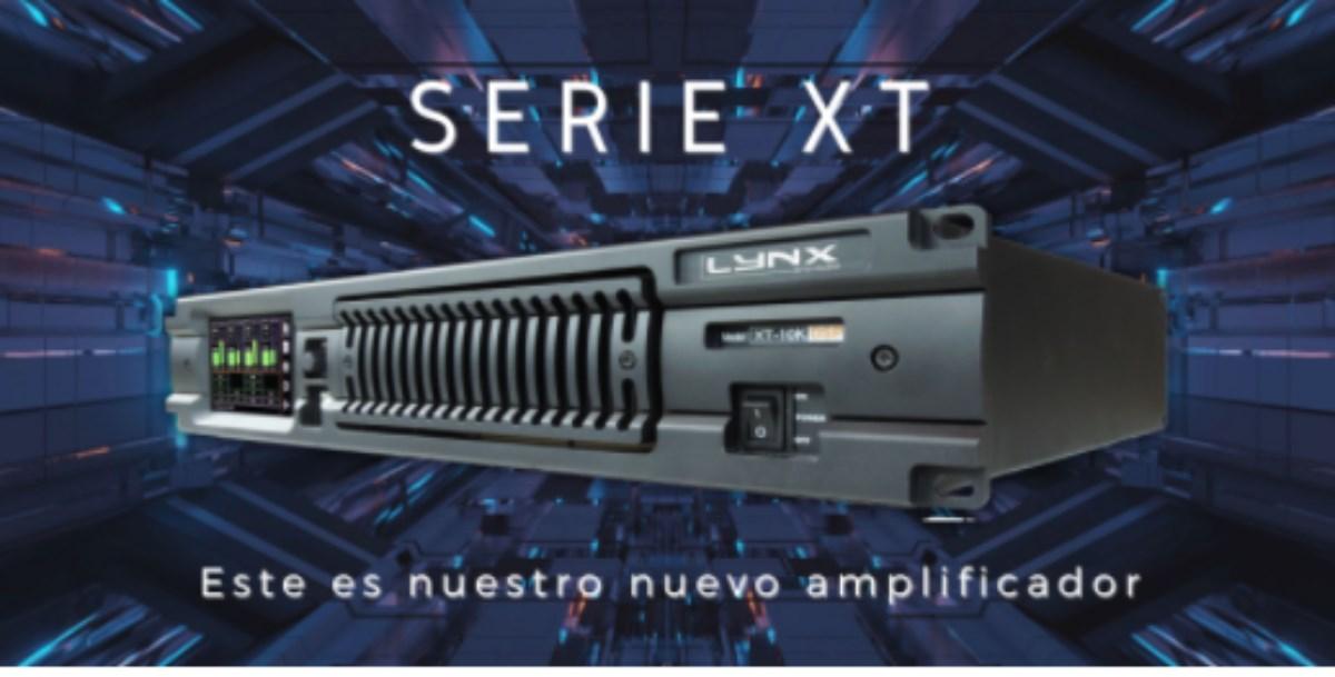 Amplificadores serie XT con procesamiento DSP de Lynx Pro Audio